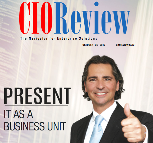 Marc Beaulieu featured on the cover of CIO Review