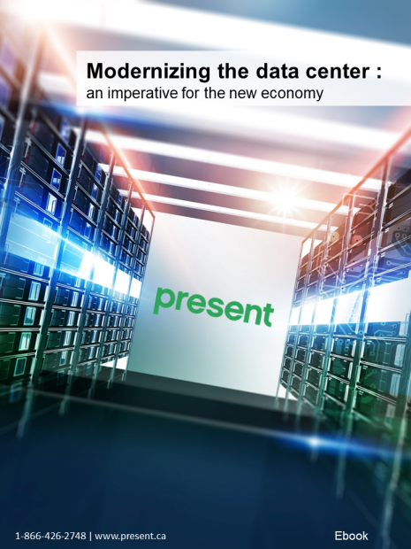Modernizing the data center : an imperative for the new economy