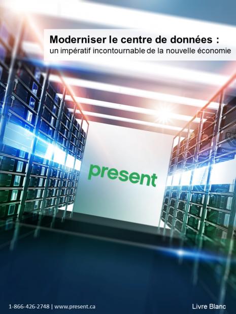 Moderniser le centre de données :  un impératif incontournable de la nouvelle économie