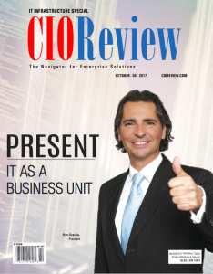 Marc Beaulieu & Present on cover of CIO Review