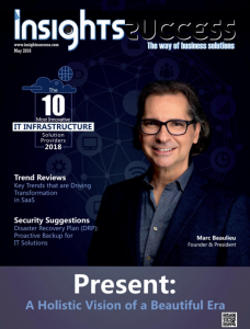 Marc Beaulieu and Present on the cover of Insight Success