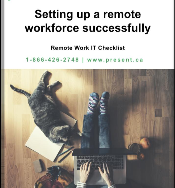 Remote Work IT checklist