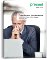 Protecting your business assets lower your risks with a disaster recovery plan